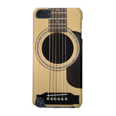 Acoustic Guitar Ipod Touch 5g Case at Zazzle
