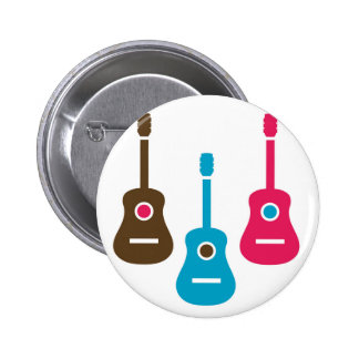 Acoustic guitar is simple colors button