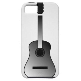 Acoustic guitar is simple colors iPhone SE/5/5s case
