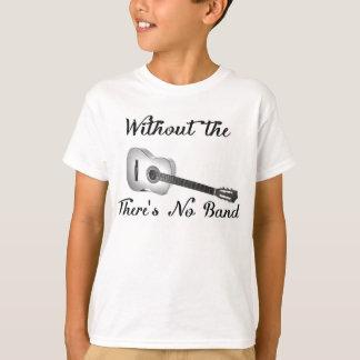 Acoustic Guitar Kid's Basic Hanes Tagless ComfortS T-Shirt