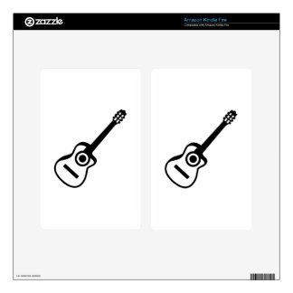 Acoustic guitar kindle fire skins