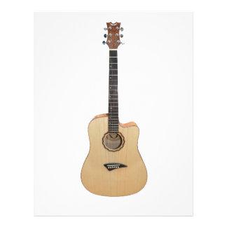 Acoustic Guitar Letterhead