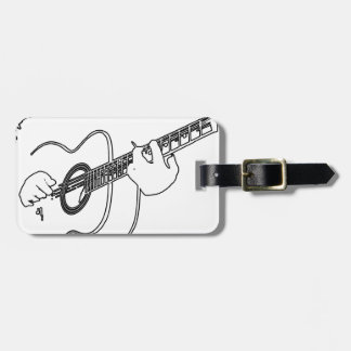 acoustic guitar tags for bags
