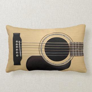 Acoustic Guitar Lumbar Pillow