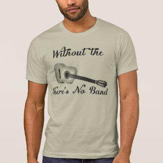 Acoustic Guitar Men's Alternative Apparel Crew Nec T-Shirt