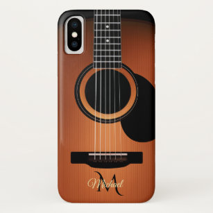 Old and Worn Acoustic Guitars Yin Yang iphone 11 case