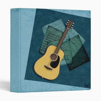Acoustic Guitar Music Binder