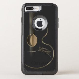 Acoustic Guitar Musician OtterBox Commuter iPhone 8 Plus/7 Plus Case