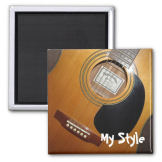 Acoustic Guitar - My Style Magnet