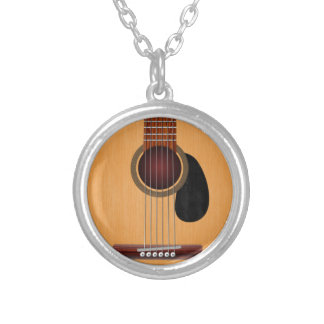 Acoustic Guitar Custom Necklace