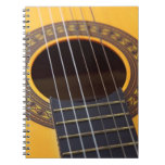 Acoustic Guitar Notebook Note Book