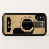 Acoustic Guitar OtterBox Symmetry iPhone X Case