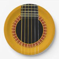 Acoustic Guitar Plates | Zazzle