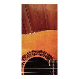 Acoustic Guitar Photo Card