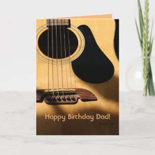 Guitar Dad Birthday Gifts On Zazzle