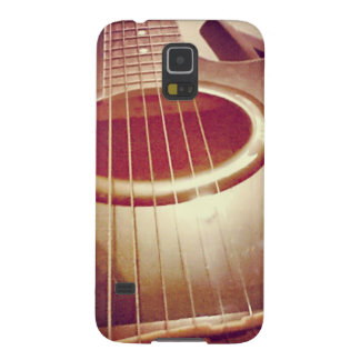 Acoustic Guitar (Photography) Galaxy S5 Cases