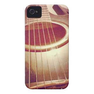 Acoustic Guitar (Photography) iPhone 4 Case