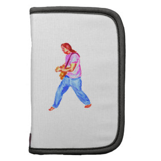 acoustic guitar player pink shirt  jeans organizers