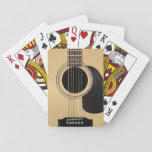 "Acoustic Guitar Playing Cards<br><div class=""desc"">Awesome classic acoustic guitar design playing cards by the artist Jerry Lambert.</div>"