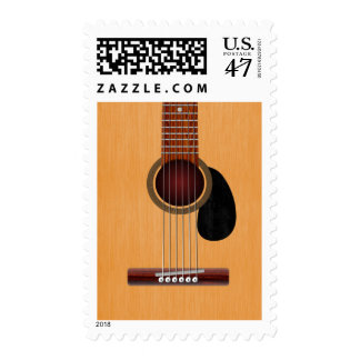 Acoustic Guitar Postage