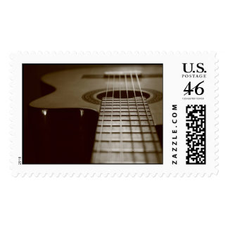 Acoustic Guitar Stamps