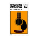 acoustic guitar postage stamps