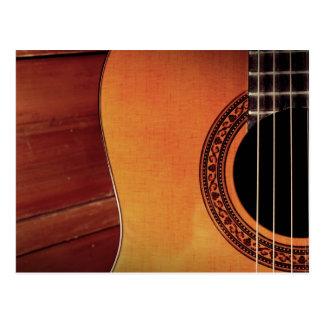 Acoustic Guitar Postcards