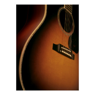 acoustic guitar posters
