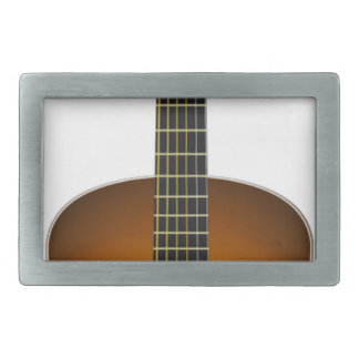 Acoustic Guitar Rectangular Belt Buckle