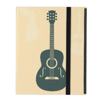 Acoustic guitar retro classic music iPad covers