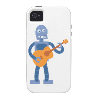 Acoustic Guitar Robot Case For The iPhone 4