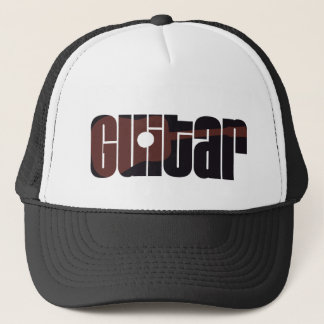 Acoustic Guitar Rust Trucker Hat