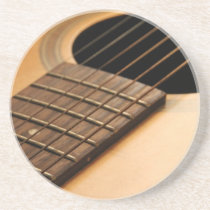 Acoustic Guitar Sandstone Coaster