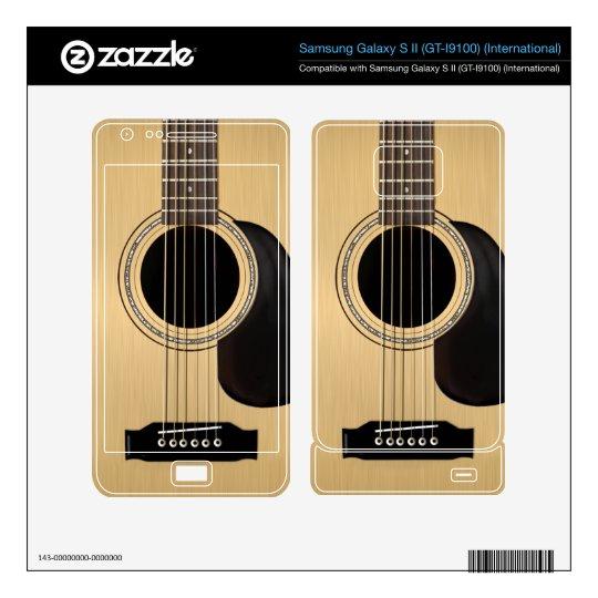 Acoustic Guitar Skin Samsung Galaxy S II Skin