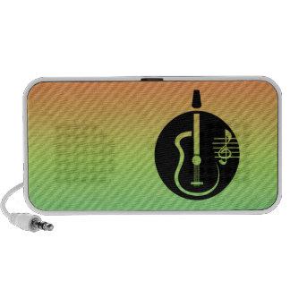 Acoustic Guitar Notebook Speakers