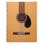 Acoustic Guitar Spiral Note Books
