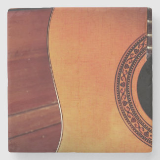 Acoustic Guitar Stone Coaster