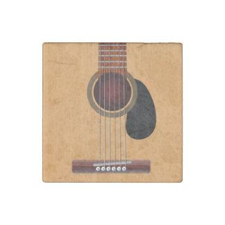 Acoustic Guitar Stone Magnet