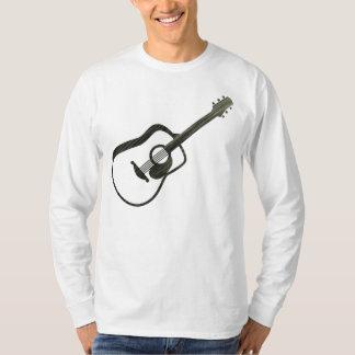 Acoustic Guitar - streaked Tee Shirt