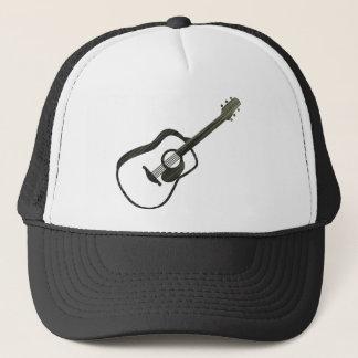 Acoustic Guitar - streaked Trucker Hat