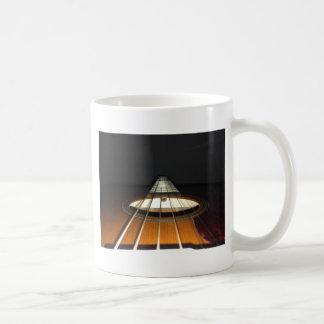 Acoustic Guitar Strings Coffee Mug