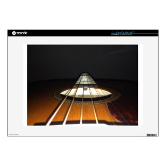 Acoustic Guitar Strings Decals For Laptops