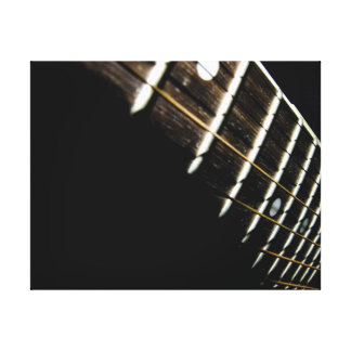 Acoustic Guitar Strings/Frets Canvas Print