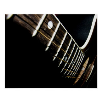 Acoustic Guitar Strings/Frets Posters