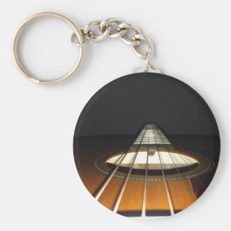 Acoustic Guitar Strings Keychain