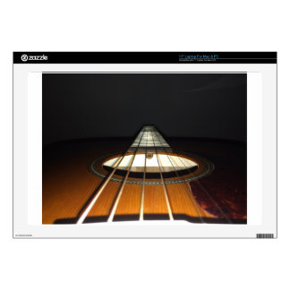 Acoustic Guitar Strings Laptop Decals