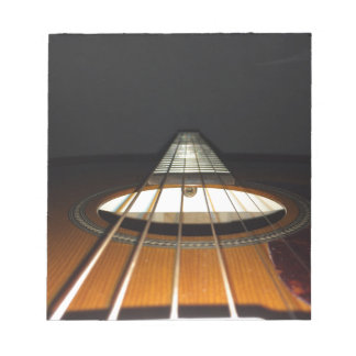 Acoustic Guitar Strings Notepad