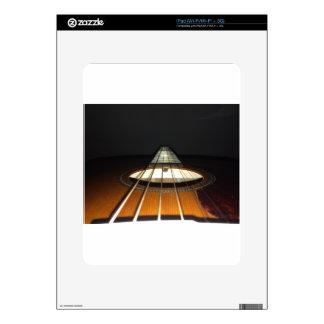 Acoustic Guitar Strings Skin For iPad