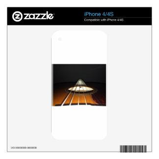Acoustic Guitar Strings Skin For iPhone 4