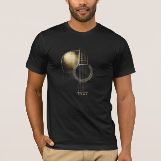 Acoustic Guitar T-Shirt (please see description)